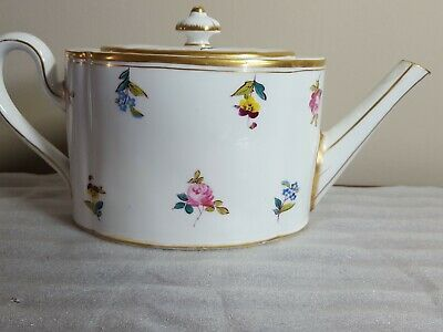 ANTIQUE ROYAL CROWN DERBY TEAPOT C 1878 -1890 Large 2 Pint • 24.50£