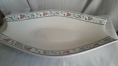 Buchan Stoneware  Portobello Very Unusual  Serving Dish Fruit Dish 16  Long Oval • 21£
