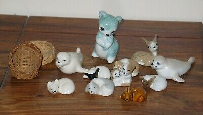11 X Vintage 'Szeiler Studio', Animal Figures • 15£