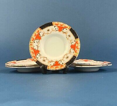 5 Vintage Sutherland Bone China Saucers - Pattern 1165 • 5.50£