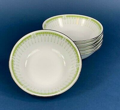 6 Noritake Greenpoint Cereal Bowls • 15.50£