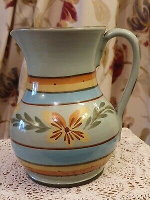 Hartrox 6.5  Hand Painted Stoneware Jug. Signed  • 25£