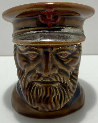 Vintage Lord Nelson Pottery Fisherman Toby Jug Made In England   • 6.49£