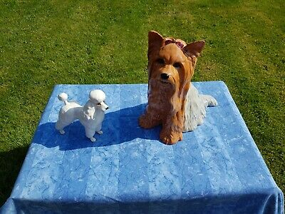 Beswick Fireside Yorkshire Terrier And Beswick Poodle • 35£
