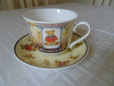 Roy Kirkham Large/Jumbo Breakfast Cup & Saucer (Collectable Bears) • 9.50£