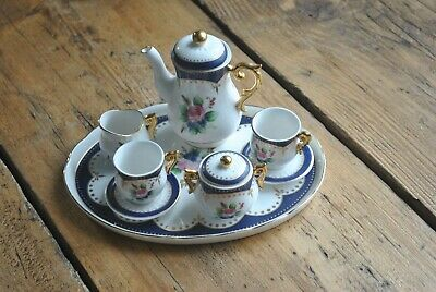 Regal Miniature Tea Or Coffee Set With Tray • 25£