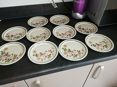 M&S Autumn Leaves Side Plates X 10 • 15£