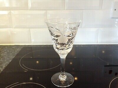 Royal Brierley Fuchsia Large Wine / Water Goblet • 22.50£