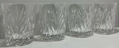 SET 4 X NACHTMANN IMPERIAL LEAD CRYSTAL LARGE TUMBLER GLASSES • 17.99£