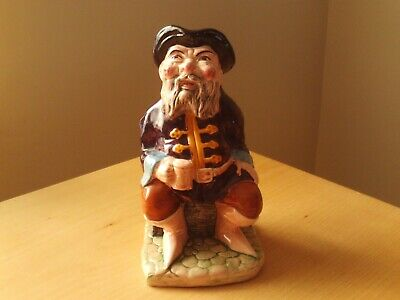 Vintage Ceramic Pottery Toby Jug Drunken Pirate Design. • 9.99£