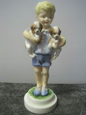 Vintage Royal Worcester Monday's Child Is Fair Of Face #3519 • 24.99£