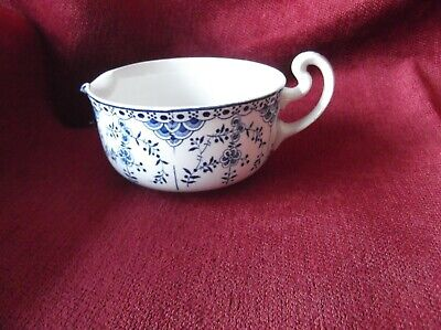 Saxon China Ware, Vintage Sauce Boat In Blue And White • 5.99£