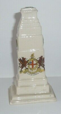 Crested China  WW1 Cenotaph - CITY OF LONDON • 4.99£
