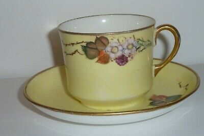 Glasgow Girls  Hand Painted Painted Cup And Saucer By MW • 4.99£