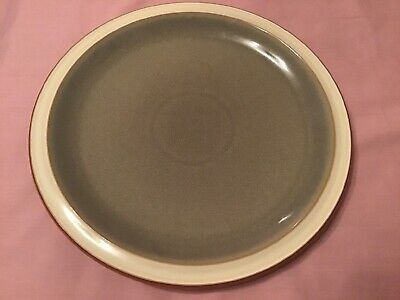 """One Large """"Fire"""" Denby 10.5"""" Dinner Plate In Green • 4.50£"""