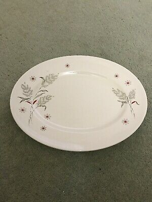 Maddock 12  Oval Plate No Chips Cracks Or Crazing To The Glaze • 0.99£