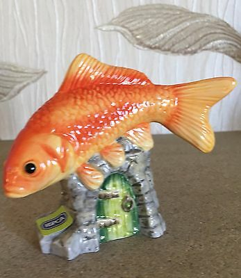 JOHN BESWICK FISH GOLDFISH MODEL No JBDP2  GLOSS NEW & BOXED  • 14.99£
