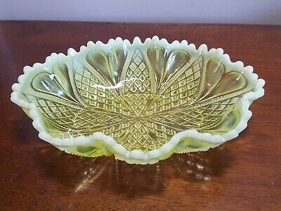 George Davidson Primrose Pearline Frilly Oval Dish ( PART OF A WIDE SELECTION) • 29.50£