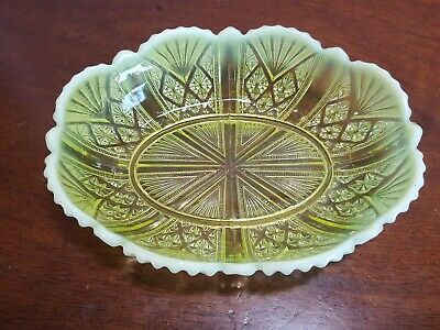 George Davidson Primrose Pearline Scallop Oval Dish ( PART OF A WIDE SELECTION) • 23.50£