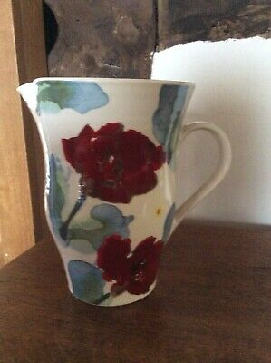Poole Pottery Poppy Pattern Jug. Height 18 Cm.  Dishwasher And Microwave Safe. • 10£