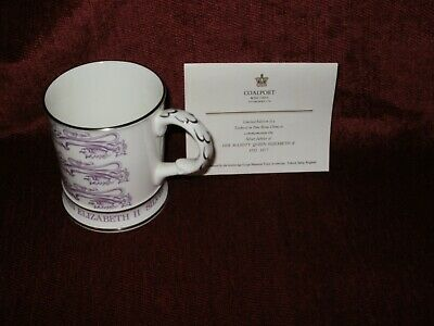 Coalport Commemorative Mug Limited To 1000 Run With Certificate • 4.99£