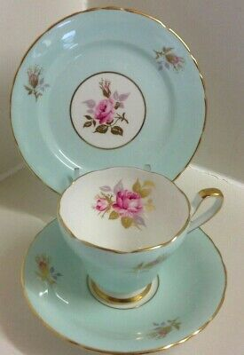Lovely Sutherland English Bone China Tea Set Trio • 12.99£