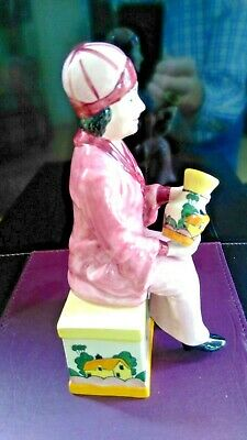 Clarice Cliff Figurine By Manor Pottery - Limited Edition  • 24£
