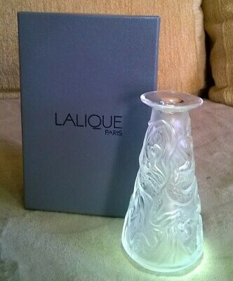 Lalique Sirene Mermaids Bud Vase Boxed With Papers • 130£
