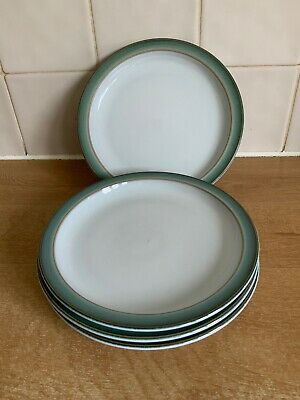 Denby Regency Green 4 X 17 Cm Side / Tea Plates • 16£