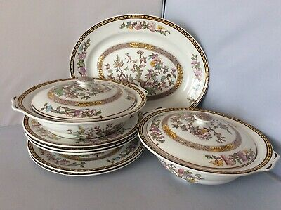 Vintage Washington Pottery Indian Tree Ironstone, 8 Pieces, Available Singly • 6£