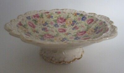 Chintz Brentleigh Ware Royal Norfolk Footed Bowl • 2.50£