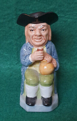 Kevin Francis Toby Jug - Man In Blue Coat - Guild Issue 1993 • 8.99£