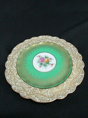 George Jones Crescent China Hand Painted & Gilded Plate C.1931 • 30£