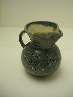 Small Barum Barnstable Jug With Motto, Signed, Rare, Excellent Condition. • 18£