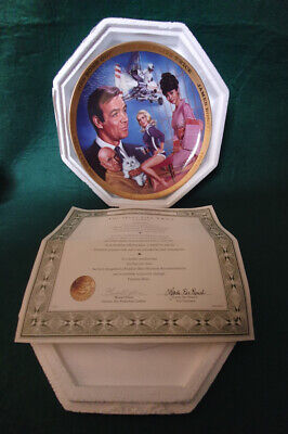 Franklin Min Collectors Plate - James Bond - You Only Live Twice • 14.99£