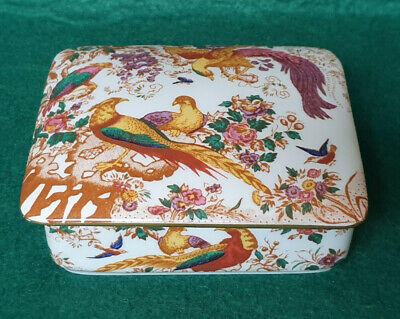Royal Crown Derby 'Old Avesbury' Pattern Lidded Trinket Box • 14.99£