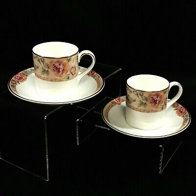 2 X Royal Doulton Fine Bone China, Darjeeling Expresso Coffee Cup & Saucer  • 12.99£