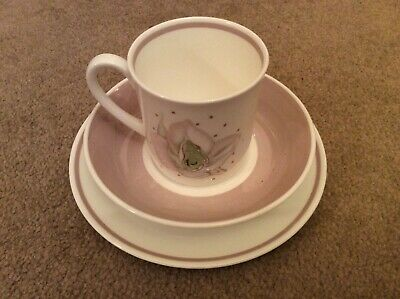 Lovely Bone China 'Susie Cooper - 'Azalea' Trio (Cup, Saucer And Plate) • 9.99£
