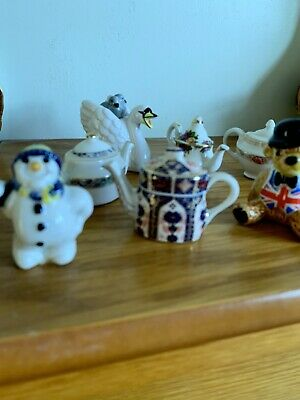 Selection Of Min Cardew Teapots X6 • 25£