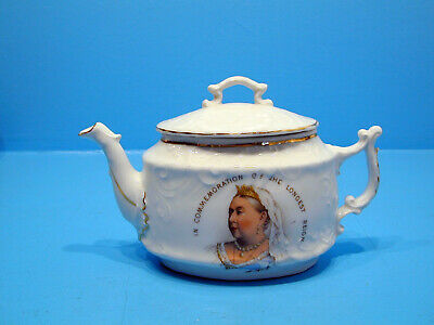 Germany - Teapot Q. Victoria To Commemorate The Longest Reign  • 29.99£