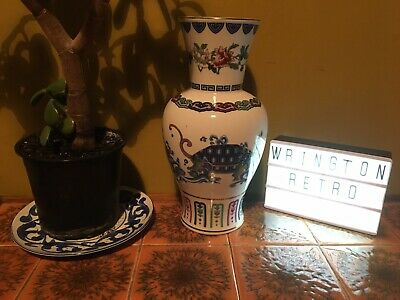 Franklin Mint Porcelain Chinese Vase - The Journey Of The Heavenly Tortoise • 17£