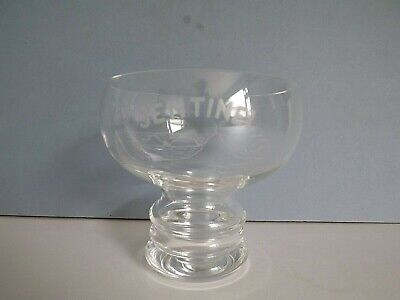 Dartington Crystal Glass Bowl With Etched Sentinel Design • 14.99£
