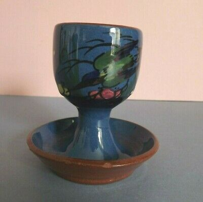 Vintage Devon Ware Blue Kingfisher Egg Cup ~ From Weymouth • 7.85£