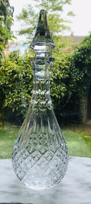 Stuart Crystal Shaftesbury Wine Decanter Signed Stuart • 39.95£
