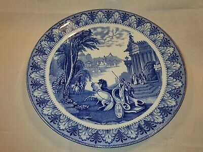 Vintage Cauldon England Plate With Roman Chariot Scene In Great Condition  • 14.99£