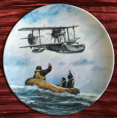 Royal Doulton Limited Edition Decorative Plate 'Rescue Role' • 5£