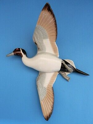 Wade Pottery Pintail Duck Bird Wildfowl Series Wall Plaque Rare • 3.20£