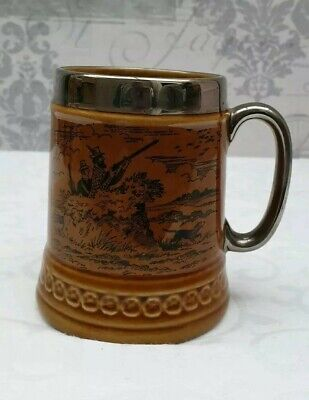 Lord Nelson Pottery Handcrafted In England Tankard Shooting Party Design Vgc • 3£