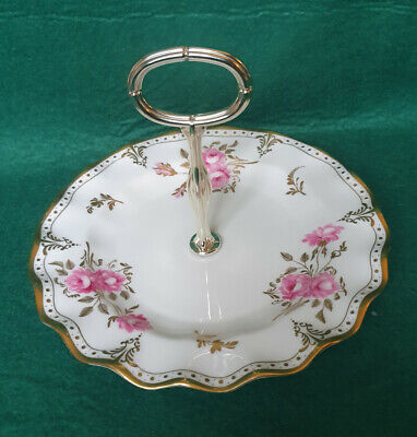 Royal Crown Derby  Royal Pinxton Roses  Cake Stand A1155 • 29.99£