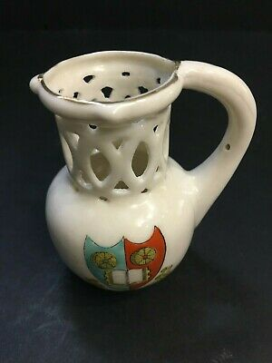 Gemma Crested China Jug - Lutterworth • 8£
